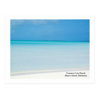 Playa de la isleta del tesoro tarjetas postales