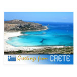 Playa de la laguna de Balos, Creta, Grecia Tarjetas Postales