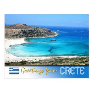 Playa de la laguna de Balos, Creta, Grecia Postales