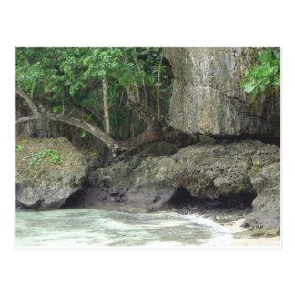 Playa de la lava de Guam Postales