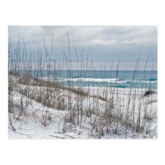 Playa de la lengua de territorio de la Florida Tarjeta Postal