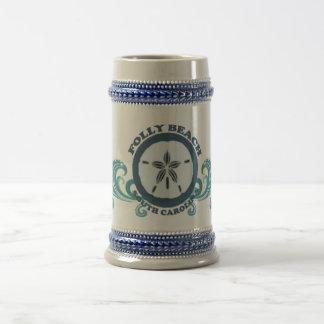 Playa de la locura jarra de cerveza