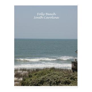 Playa de la locura tarjetas postales