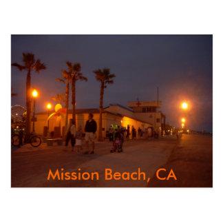 Playa de la misión, CA Postales