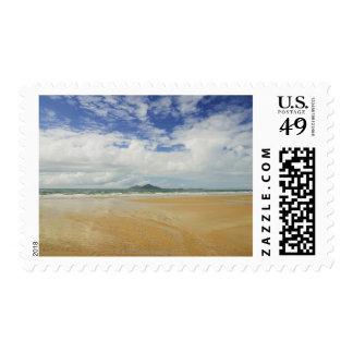 Playa de la misión e isla 2 de la clavada sellos