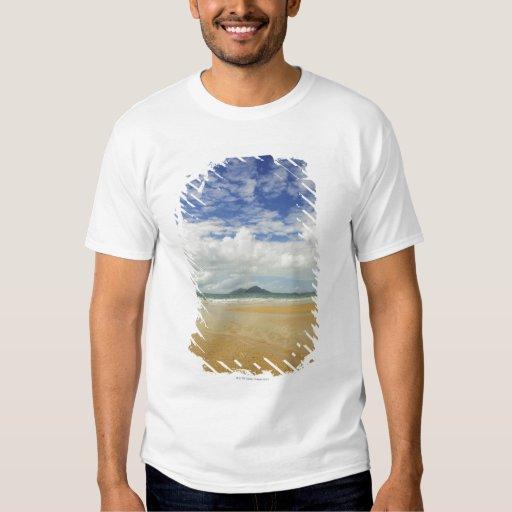 Playa de la misión e isla de la clavada poleras