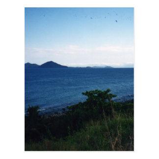 Playa de la misión postales