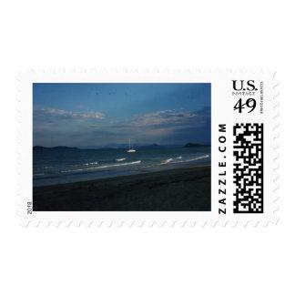 Playa de la misión sellos