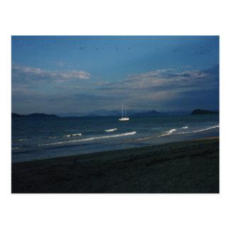 Playa de la misión tarjeta postal
