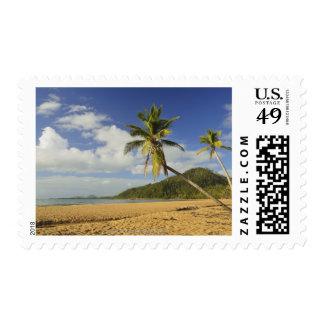 Playa de la misión timbre postal