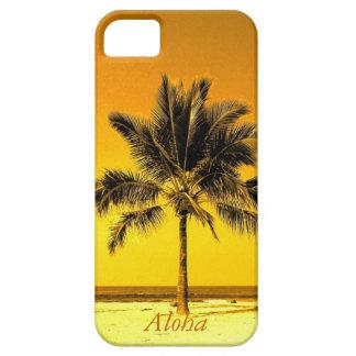 Playa de la palmera de la isla iPhone 5 fundas