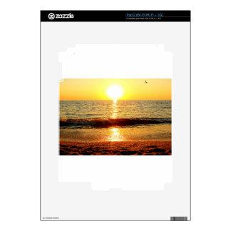 Playa de la puesta del sol, Cape May NJ Skins Para eliPad 2