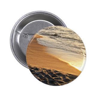 Playa de la puesta del sol pin redondo 5 cm