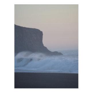Playa de la roca de la cabra tarjetas postales