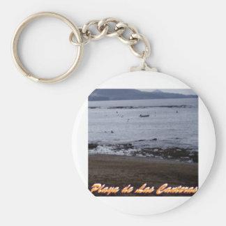 Playa de Las Canteras Keychain