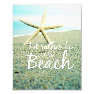 Playa de las estrellas de mar que dice la foto fotografía
