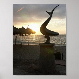 Playa de los Muertos, Puerto Vallarta  Posters