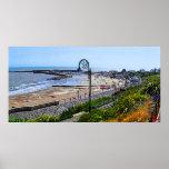 Playa de Lyme Regis y el Cobb Impresiones