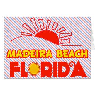 Playa de Madeira, la Florida Tarjeton