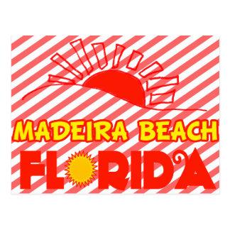 Playa de Madeira, la Florida Tarjetas Postales
