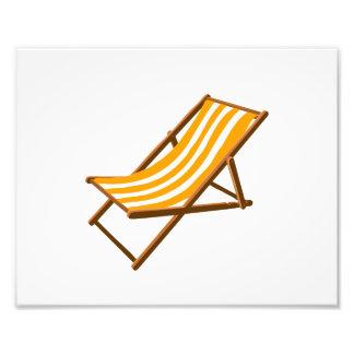 playa de madera rayada anaranjada chair png impresion fotografica