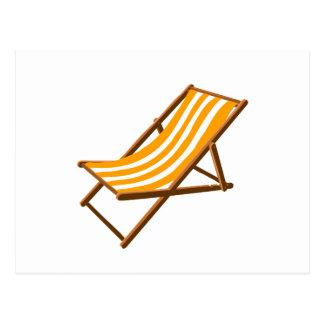 playa de madera rayada anaranjada chair.png postales
