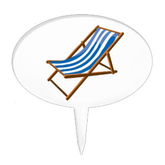 playa de madera rayada azul chair.png figura de tarta