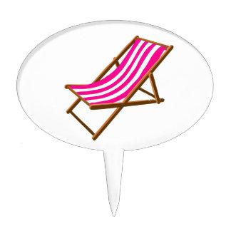 playa de madera rayada chair.png del fuschia decoración para tarta