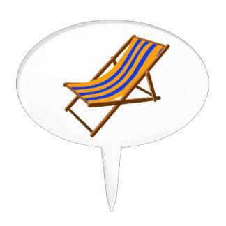 playa de madera rayada chair.png del naranja azul decoraciones de tartas