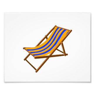 playa de madera rayada chair.png del naranja azul cojinete
