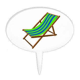 playa de madera rayada chair.png del verde azul figura para tarta
