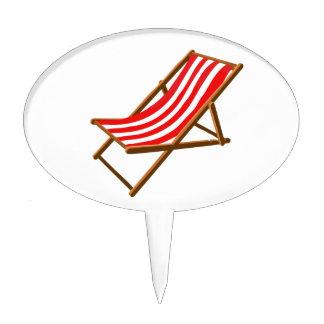 playa de madera rayada roja chair.png figuras de tarta