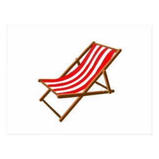 playa de madera rayada roja chair.png postales