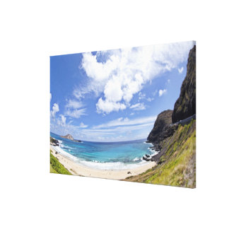 Playa de Makapuu en Oahu, Hawaii Impresion De Lienzo