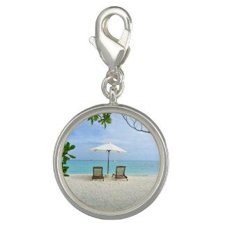 Playa de Maldivas Dije Con Foto