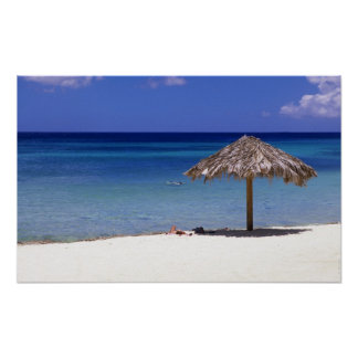 Playa de Malmok, Aruba, Antillas holandesas Posters