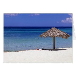 Playa de Malmok, Aruba, Antillas holandesas Tarjeta De Felicitación