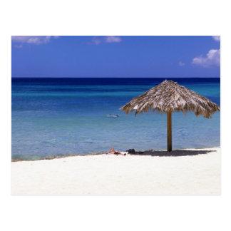 Playa de Malmok, Aruba, Antillas holandesas Tarjetas Postales