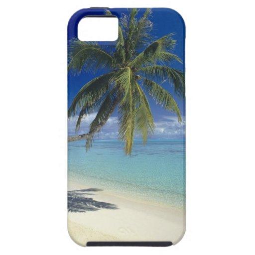 Playa de Matira en la isla de Bora Bora, sociedad iPhone 5 Fundas