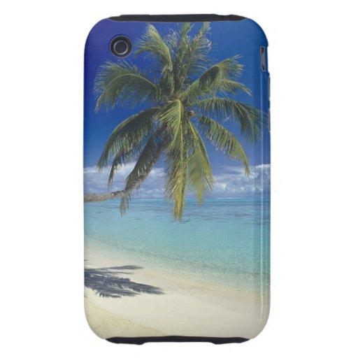 Playa de Matira en la isla de Bora Bora, sociedad iPhone 3 Tough Protector