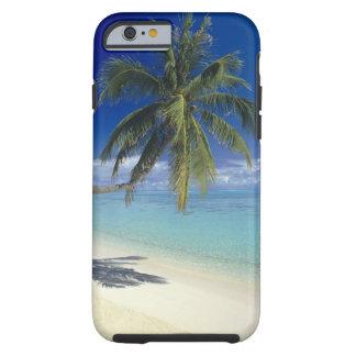 Playa de Matira en la isla de Bora Bora, sociedad Funda De iPhone 6 Tough