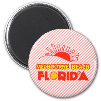 Playa de Melbourne, la Florida Imán Redondo 5 Cm