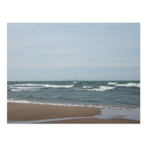 Playa de Miller en Gary, Indiana Tarjetas Postales