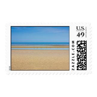 Playa de Minimalistic y fotografía de la orilla Sello