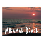 Playa de Miramar Postal