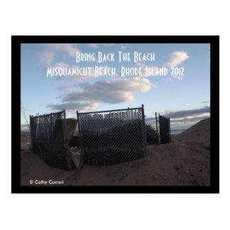 Playa de Misquamicut, Rhode Island 2012 Postal