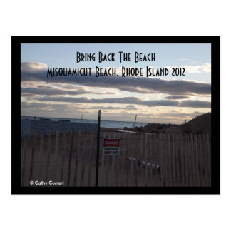 Playa de Misquamicut, Rhode Island 2012 Postales