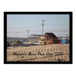 Playa de Misquamicut, Rhode Island después del Postales