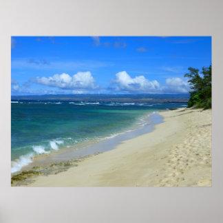 Playa de Mokuleia Hawaii Impresiones