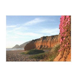 Playa de Montara Impresiones En Lona Estiradas